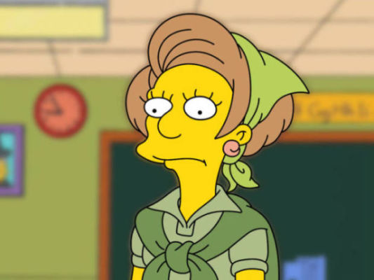 Mrs. Krabappel vai se aposentar de The Simpsons